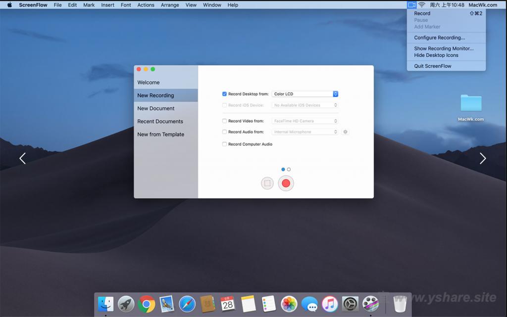 ScreenFlow for Mac V9.0.2 中文破解版 (屏幕录制视频编辑于一体)