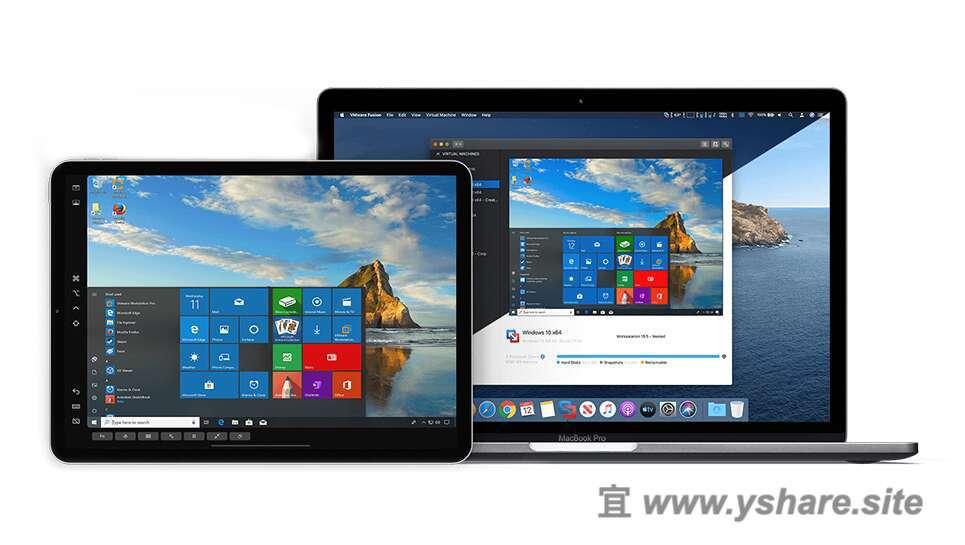 VMware Fusion Pro for Mac V11.5.1 中文破解版